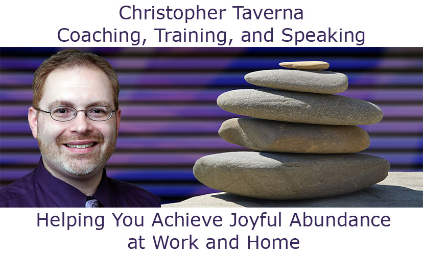 Christopher Taverna Coaching, Training, and Speaking